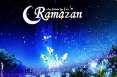 Ramazan ayının təqvimi  -  Cədvəl