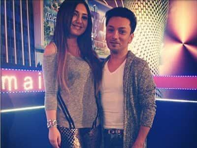 Teleaparıcı Günel Hümbətova ilə xalq artisti Faiq Ağayev - FOTOLAR