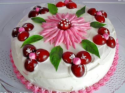 Albalı tort resepti