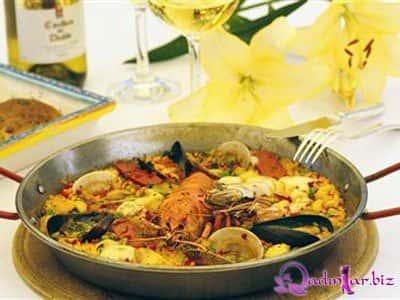 Paella resepti (İspan mətbəxi)