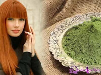 Xına - saçların boyanması və müalicəsi üçün təbii vasitə