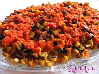 Pomidor souslu badımcan resepti