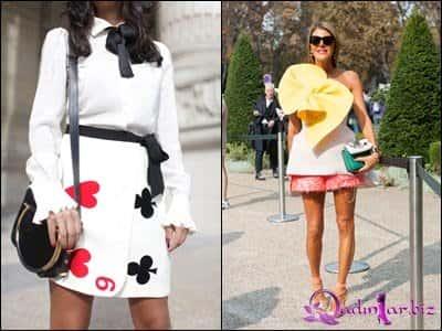 Paris moda həftəsi - street style