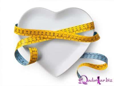 Ayda 5 kilo verdirən 1500 kalorilik diet listi