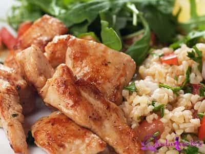 Toyuqlu bulğur salat resepti
