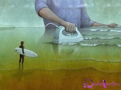 Kuçinskinin satirik illüstrasiyaları – Düşüncə anı