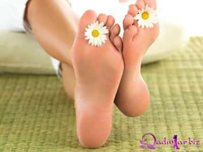 Yumşaq və baxımlı ayaqlara sahib olmaq üçün