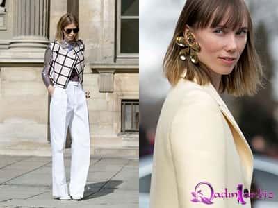 Paris moda həftəsindən street style