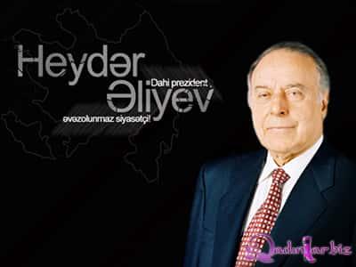 Heydər Əliyevin anadan olmasının 92-ci ildönümüdür