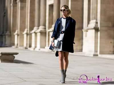 Paris moda həftəsi: Küçə dəbi