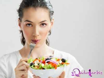 Menstrual dövrdə yeyilməsi faydalı olan qidalar