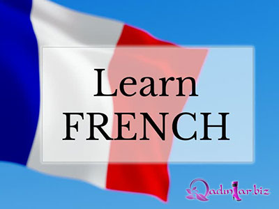 Fransız dili dərsi ( 4- cü dərs)
