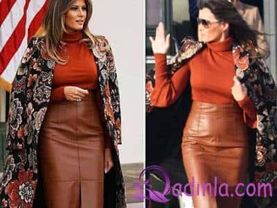 First Lady Melani Trampdan müthiş dəbli obrazlar 3