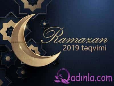 Ramazan ayının təqvimi açıqlanıb - CƏDVƏL
