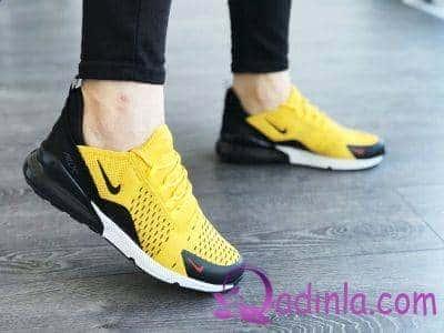 Sarı sport ayaqqabı modelləri